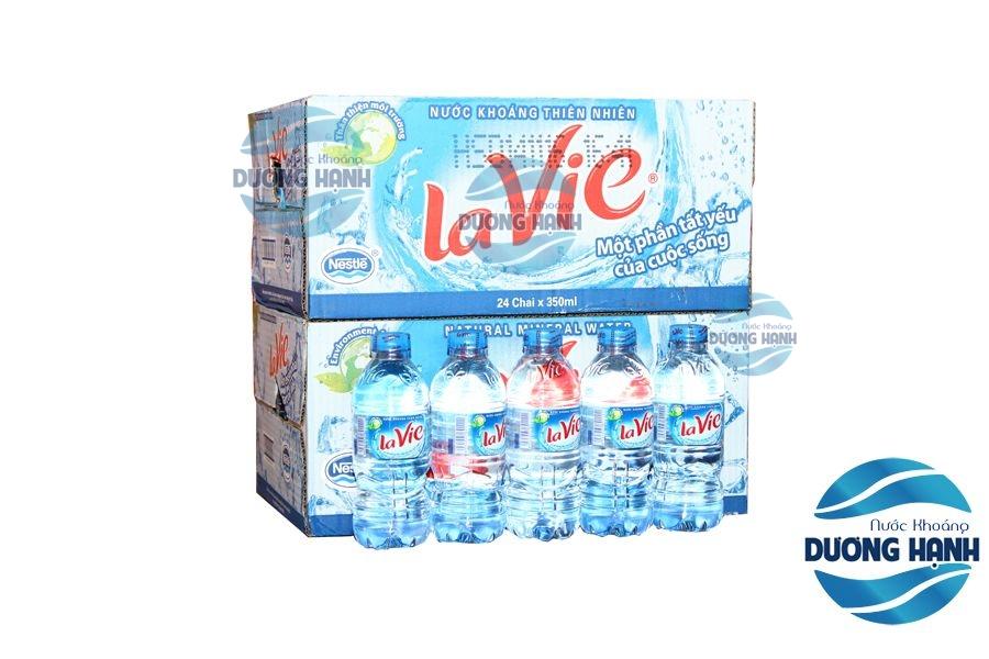 Nước La vie 350ml gía 75.000đ/1 thùng 24 chai